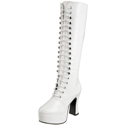 Pleaser Exo2020, Damen Stiefel , Weiß, EU 41 (UK 8 / US 11)