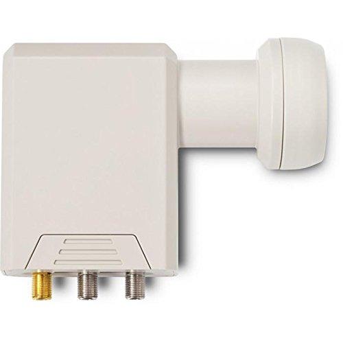 TechniSat 0007 8886 - LNB para equipos por satélite (2 salidas de legado, 2 salidas universales), blanco (importado)