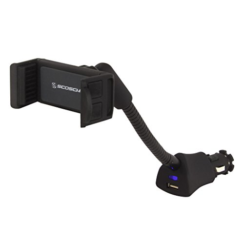 SCOSCHE H12VFXM PowerMount Vehicle Mount for Mobile Devices