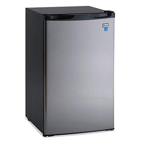 Avanti RM4436SS 4.4 Cu Ft Counter High Stainless Steel Mini Fridge Refrigerator