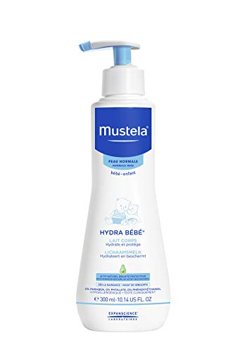 Mustela Hydra Bebe Body Milk 300 Ml, Almond