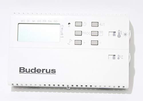Buderus Digitaler Raumtemperaturregler RTR Bert Gas-/Öl-Heizeinsätze/Kamineinsatz HLV115 / HLV215 / HLV315 /HLV124 / HLV224
