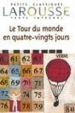 Le Tour du monde en 80 jours - Larousse - 05/08/2000