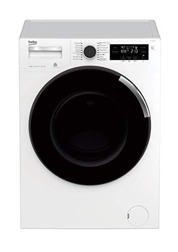 Beko WTV8744S Waschvollautomat Frontlader / 8 kg / Digitales Touch-Display / ProSmart Inverter Motor / XL-Tür - 34 cm / nur 49 dB(A) beim Waschen