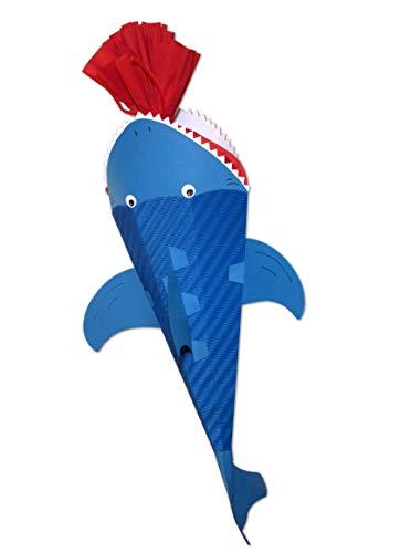 Postler Schultüte Bastelset Hafisch - Zuckertüte - aus 3D Wellpappe, 68cm hoch