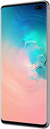 Samsung Galaxy S10+ Dual SIM, 128 GB interner Speicher, 8 GB RAM, prism white, [Standard] Andere Europäische Version