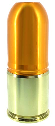 SportPro 4 Round CNC Aluminum CO2 Gas Paintball Shower for Airsoft - Gold