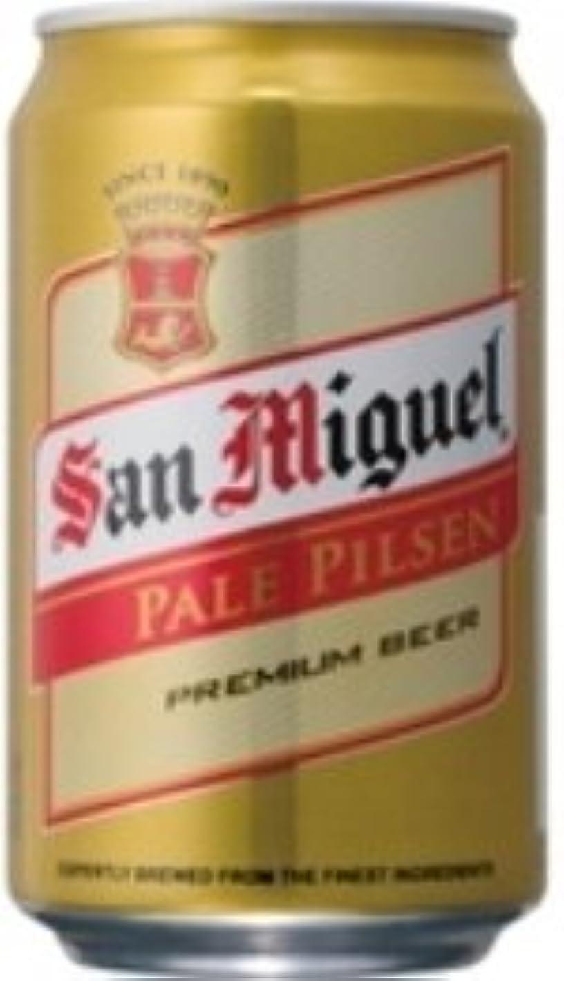 樫の木ダンスシャンパンサンミゲール?ピルスナー( 缶) 330ml×24本.n Philippines beer フィリピンビール ケース重量:約10.6kg 香港製造