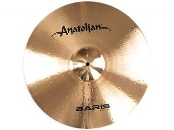Anatolian Cymbals ABS12SPL - Plato 12' baris splash brillant, color dorado
