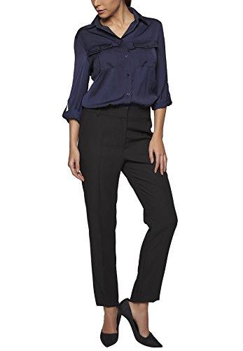 APART Fashion Damen Overall Jumpsuits, Schwarz (nachtblau-schwarz 0), 42
