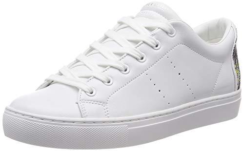 Skechers Damen Side Street-Sunset Walks Sneaker, Weiß (White Wht), 40 EU