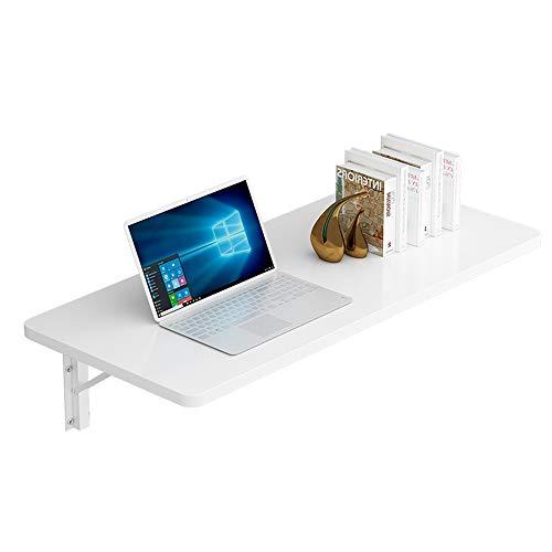 Sofa kruk Brisk- Eenvoudige Opvouwbare Bureau Wandplank Multifunctionele Wandmontage Tafel voor Woonkamer/Slaapkamer/Keuken/Balkon, Metalen Stand, Wit