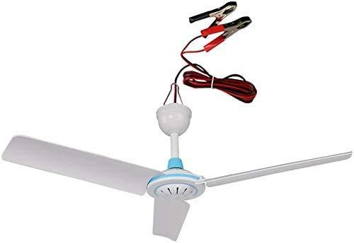 NMBD Electrodomésticos Camping al Aire Libre Ventilador de Techo/Breeze Ventilador/Viajes/Ventilador silencioso pequeño Ventilador/energía Ahorro de Techo Ventilador de CC 12 (V)