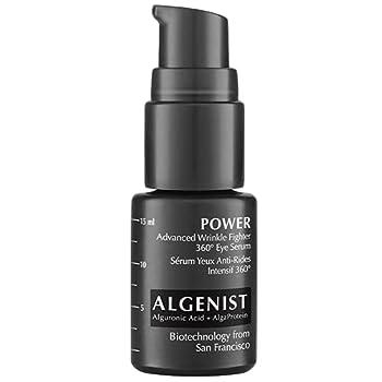Algenist POWER Advanced Wrinkle Fighter 360° Eye Serum Travel - Vegan & Fragrance-Free Under Eye Treatment - Non-Comedogenic & Hypoallergenic Skincare  5ml / 0.17oz