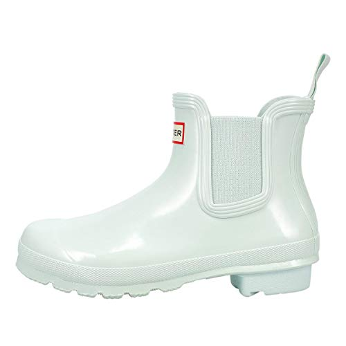 Hunter Boot Women's Original Chelsea Gloss Rain Boot Spearmint 8 Medium US