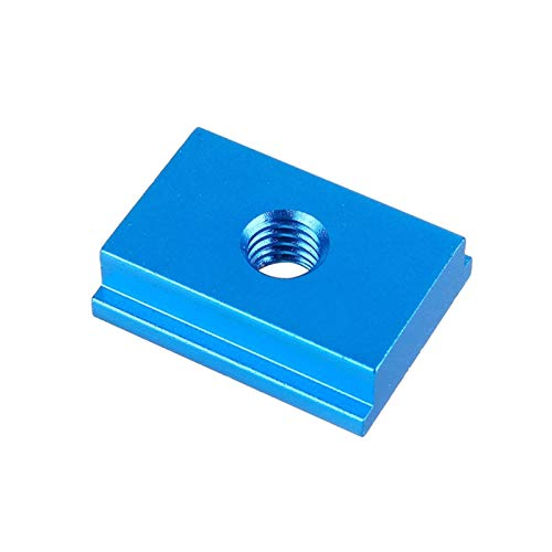 Gaodpz M6/M8 T-tracks Model Aluminium Alloy T Slot Nut Standard Miter Track for workbench Router Table Woodworking Tool Fastener (Color : M8 BLUE, Size : 4pcs)