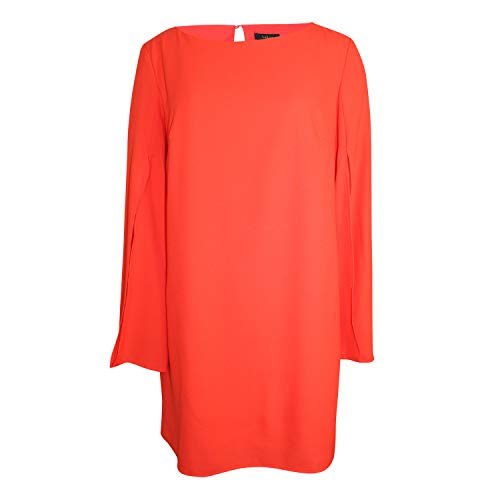 Aakaa Womens Shift Dress Persimmon Small
