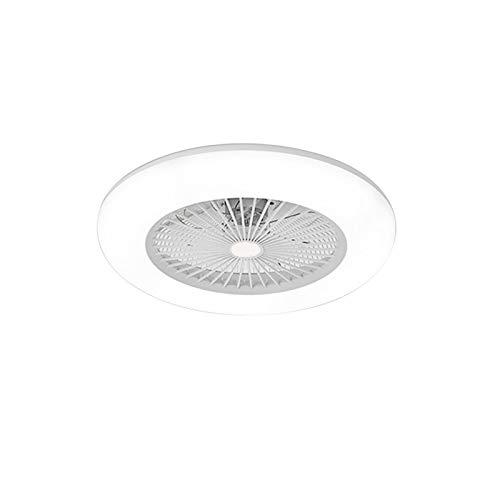 Hzdmfgs Lámpara de Techo Ventilador de Techo de 36W LED con la iluminación de la Velocidad de Viento Ajustable con Control Remoto Luz de Techo LED Moderna para la Sala de Estar del Dormitorio