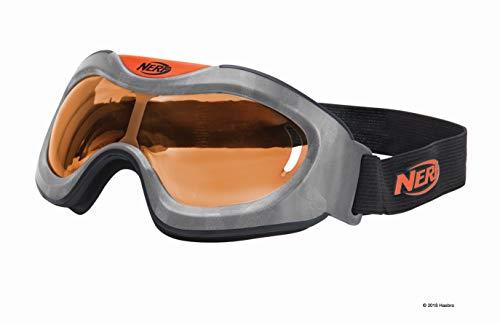 Nerf Elite Battlebril Orange11559 hoogwaardige bril met in grootte verstelbare riem in sytiek Nerf Elite design, voor actierijk speelplezier