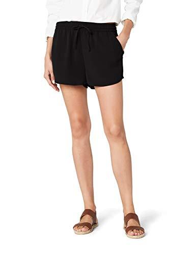 Only Onlturner Shorts Wvn Noos Pantaloncini, Nero (Black Black), 34 Donna