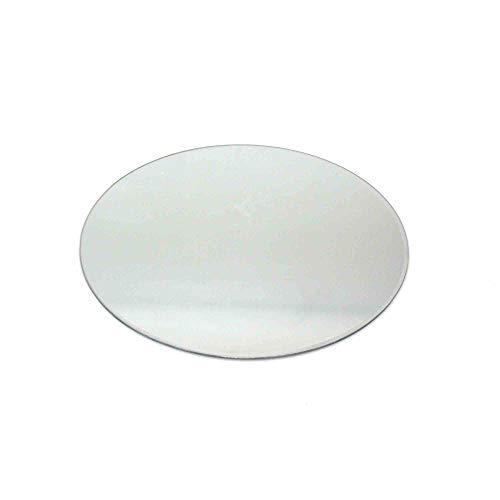 Floral-Direkt Spiegeluntersetzer 25cm rund Spiegel Spiegelplatte Teller Untersetzer Spiegelteller