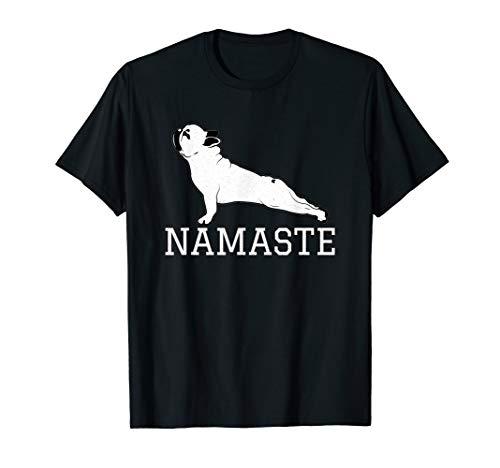 French Bulldog Yoga Funny Frenchie Namaste Lovers Gift T-Shirt