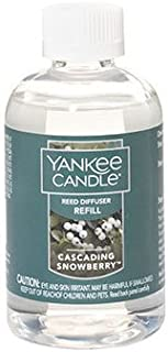 Yankee Candle Cascading Snowberry Reed Diffuser Refill Oil 4 oz