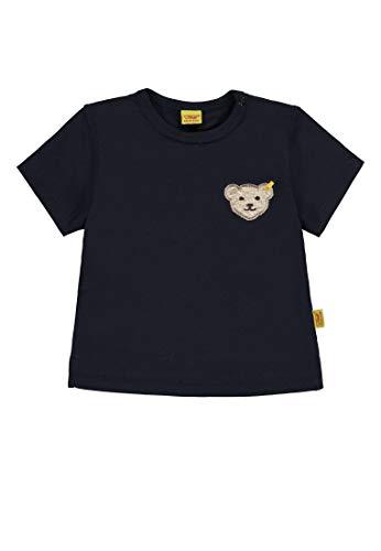 Steiff Baby-Jungen 1/4 Arm T-Shirt, Blau (Marine|Blue 3032), 116
