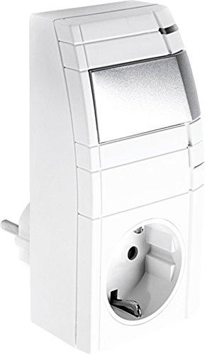 Telekom 40291346 Smart Home Zwischenstecker Dimmaktor, Grau, Weiß