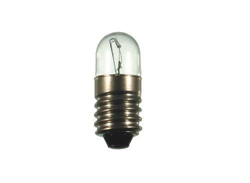 S+H Röhrenlampe Kleinröhrenlampe 9x23mm Sockel E10 24 Volt 3 Watt