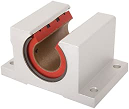 Pacific Bearing PBC-81 Precision-Style Open-Single Linear Plain Bearing Pillow Block 5/8 Inch Diameter, 2.50 x 1.938 Long