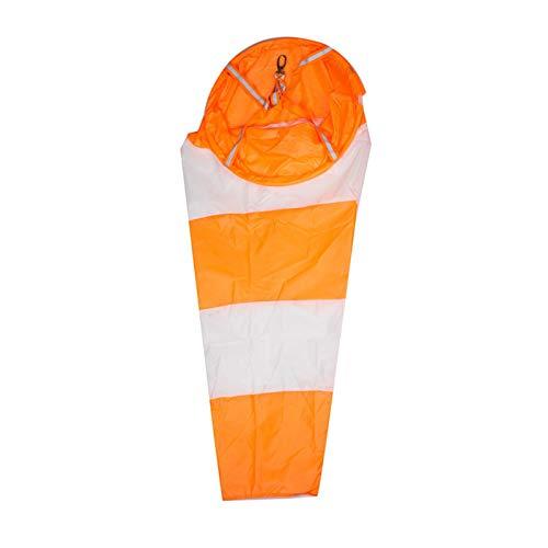 Seii Windsack Outdoor Wind Socken Tasche Weiß und Rot Fluoerscence Waterproof Wind Sleeve Usefulness Stunning