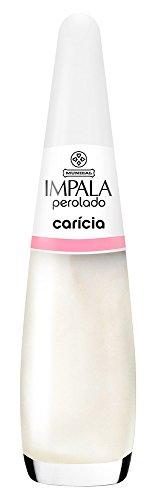 Esmalte Perolado Caricia, Impala Cosmeticos, Branco