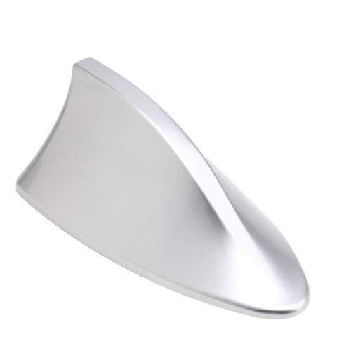Guance Car Shark Fin Roof Antenna Car Antenna Radio FM/AM Car Accessories Decorate Silver for Hyundai Grand i10