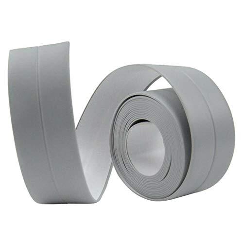 Keuken Badkamer Douchebak Bad Afdichtstrip Tape PVC Zelfklevend Waterdicht Muursticker Anti-schimmel Vuilafstotende Strips, Grijs, 22mm