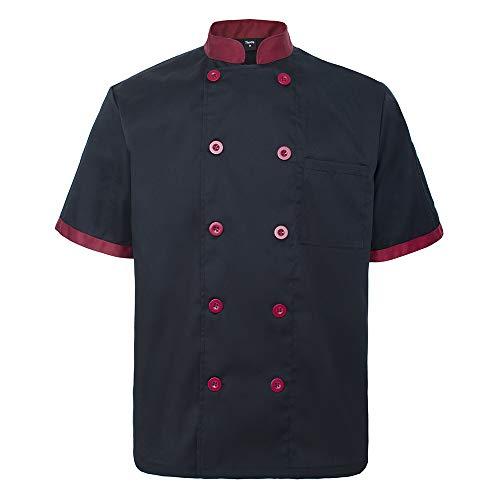 100 cotton chef coat men - 8