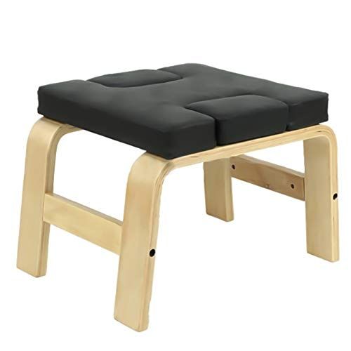 Great Deal! Kindlov-outs Yoga Inversion Bench Yoga Meditation Benches Inversion Chair Wooden Yoga As...