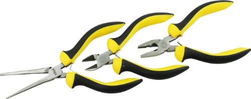 Rolson 20613 - Juego de tenazas y alicates (tamaño: 3pcm)