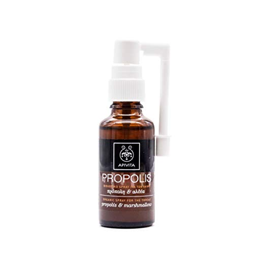 APIVITA Organic Spray for the Throat with marshmallow & propolis 30ml