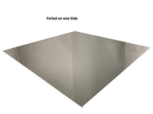 1-4mm Aluminium Blech Platte einseitig foliert AlMg Alublech Aluplatte Feinblech Zuschnitt wählbar (100x100x1,5mm)