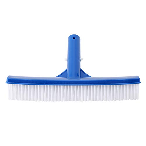 TOPINCN Cepillo De La Piscina 10 Pulgadas Plástico Estanque Paredes Inferiores Azulejos Suciedad Moss Pond SPA Limpiador Termales Herramientas Suministros