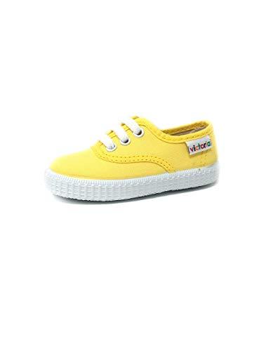 Victoria Inglesa Lona 6613, Zapatillas de Tela Unisex, Amarillo (Yellow), 38