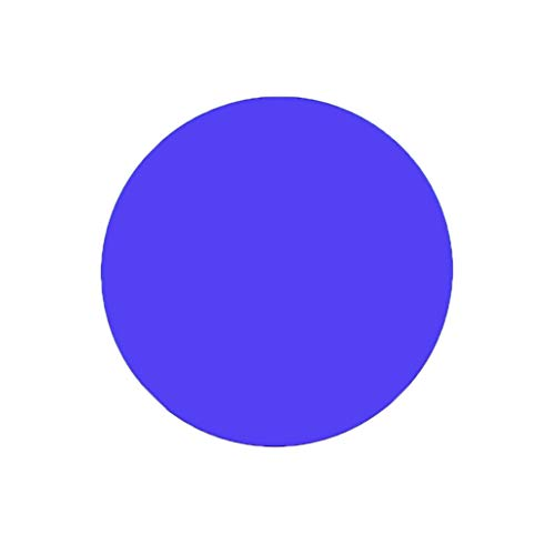 Plexiglas-Brett, farbige Acrylplatte, Durchmesser 10 cm, DIY-Spielzeug, Zubehör, Modellbau, One Size, blau