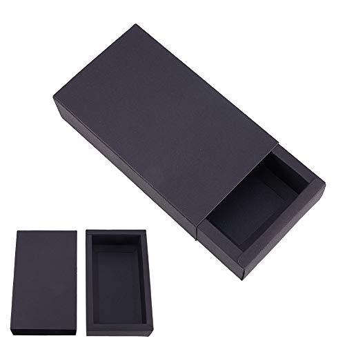 BENECREAT 16 Pack Caja de Cartón Kraft Cajas de Regalo para
