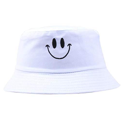 Unisex Algodón Sombreros del Cubo Sólido El Patrón De Bordado Casquillo del Lavabo del Color Pescador Sombrero Bordado del Casquillo De Sun Plegable Sombrero Al Aire Libre para Las Mujeres De
