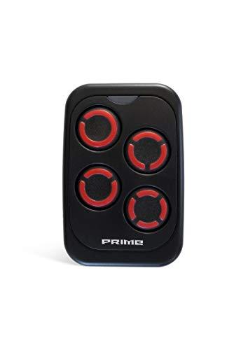 Universal Handsender PRIME 433-868 MHz Fernbedienung Garagentoröffner Garagentor (Rot)