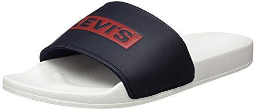 Levi's Herren 231761-794-51_46 Slides, White, EU