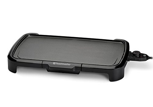 Toastmaster TM-201GR Griddle, 10 x 20, Black