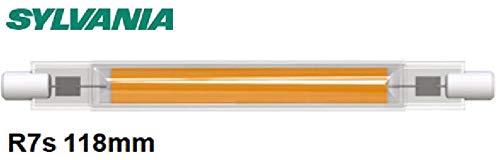 Sylvania R7S LED 118mm Stablampe FILAMENT- LED Halogen Ersatz (1055 lm, Lichtfarbe: 4000 K), LED Leuchtmittel neutralweiß [Energieklasse A++] (1 Lampe) NICHT DIMMBAR