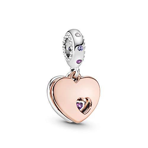 Pandora Part of My Heart Pendant Multi colored Charm
